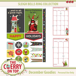 free, printable December goodies