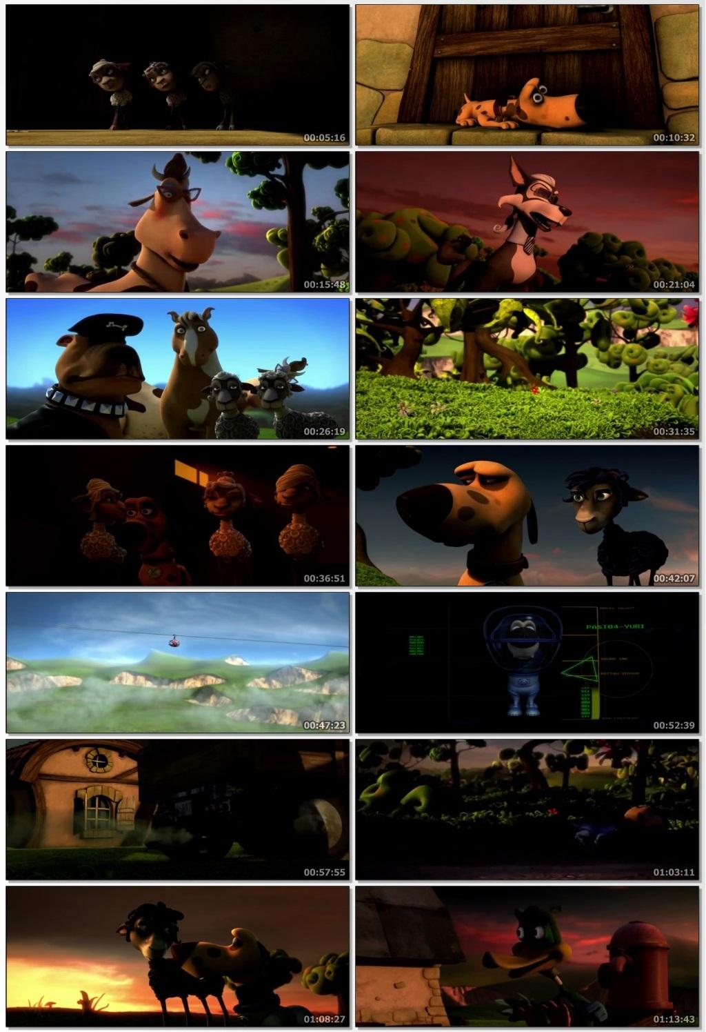 Screen Shot Of Blackie & Kanuto 2019 Full Movie Free Download HD 720P Watch Online