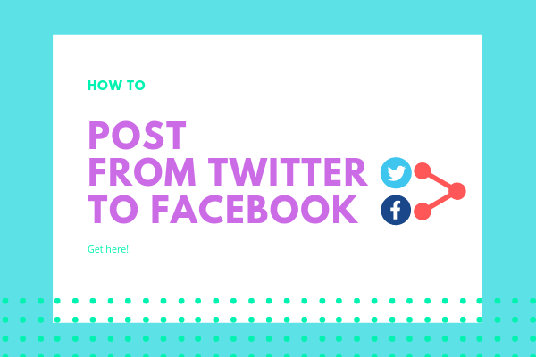 How To Post Facebook To Twitter<br/>