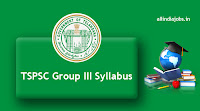 TSPSC Group III Syllabus