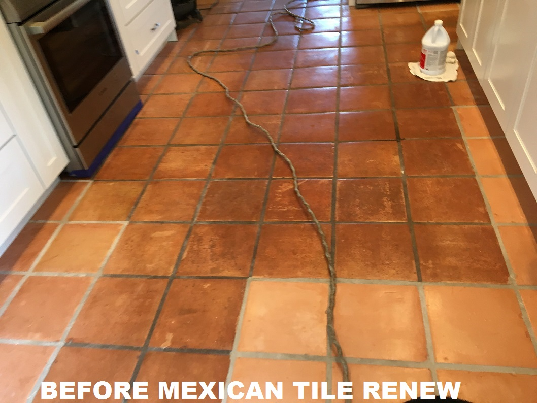 Mexican tile renew sarasota fl cleaning sealing mexican for Beach house flooring