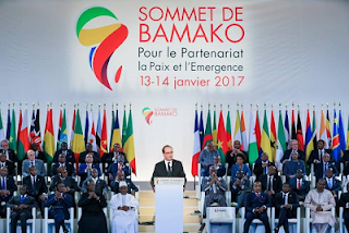 Buhari, Africa-France summit