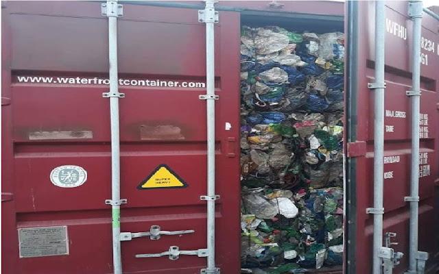 Port de Béjaïa : Saisie de Dix-sept conteneurs remplies d'ordures