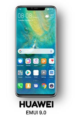 Ganti font Huawei Honor EMUI 4 5 6 7 8 9