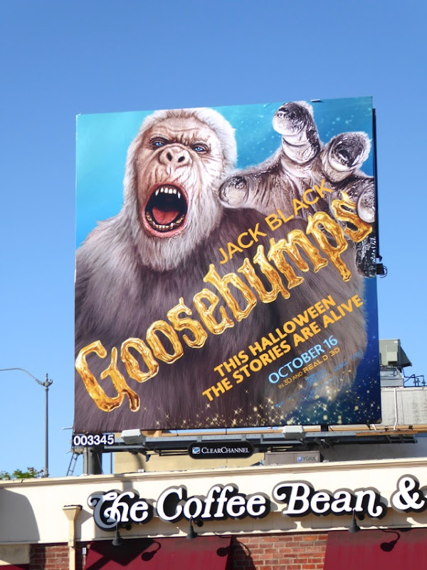 Goosebumps Abominable Snowman billboard