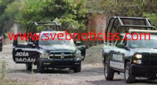 Balacera en Apatzingan Michoacan este Jueves deja un detenido