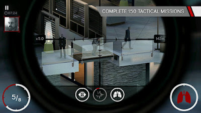 Free Download Game Hitman Sniper Mod Apk + Data Android