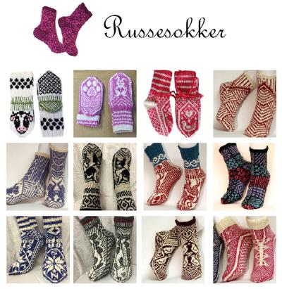 Russesokker fra den store sokkeboka