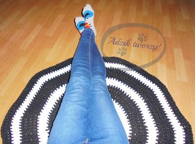 handmade dywan szydełko