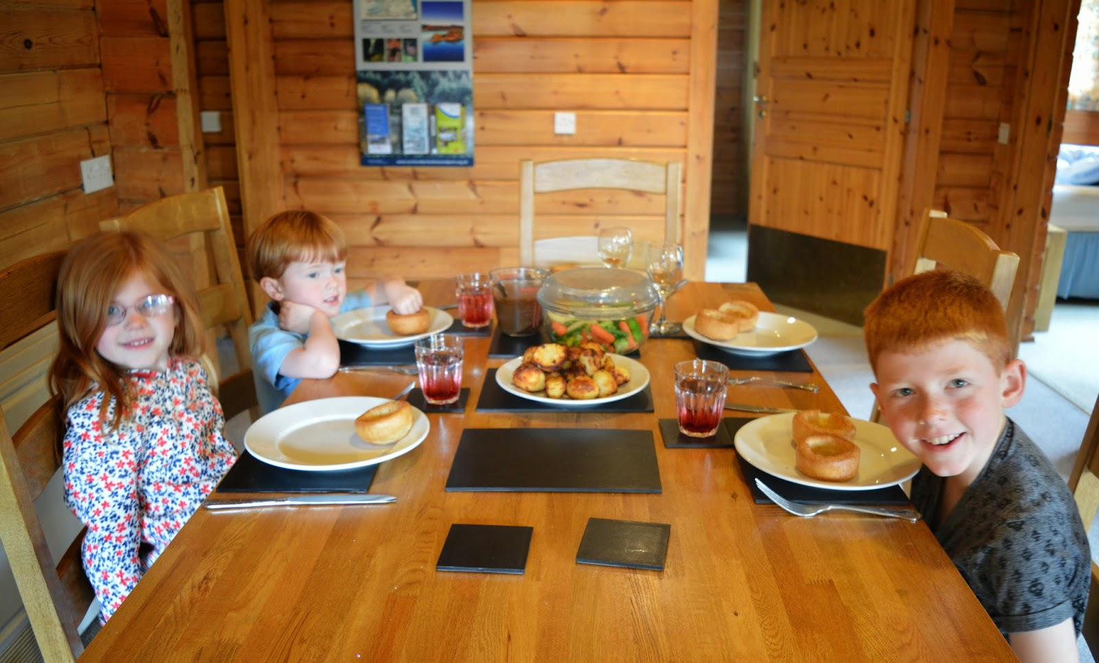 Sunday lunch, Kielder