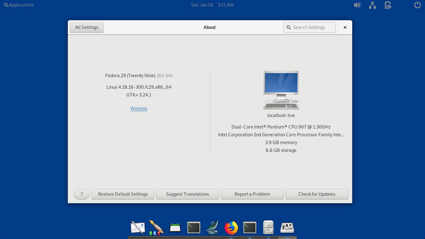 Ubuntu Buzz !: Pantheon Desktop on Fedora GNU/Linux
