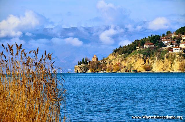 Church St. John (Jovan) Kaneo, Ohrid, Macedonia