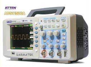 Darmatek Jual ATTEN ADS-1152CA Digital Oscilloscope