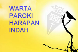 Warta Paroki Harapan Indah 8 April 2018