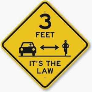 3 Feet -- It's the Law