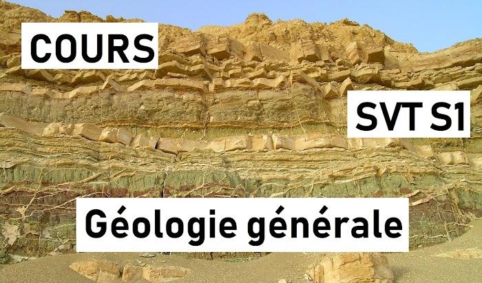 Cour Géologie générale SVT Semestre S1 PDF