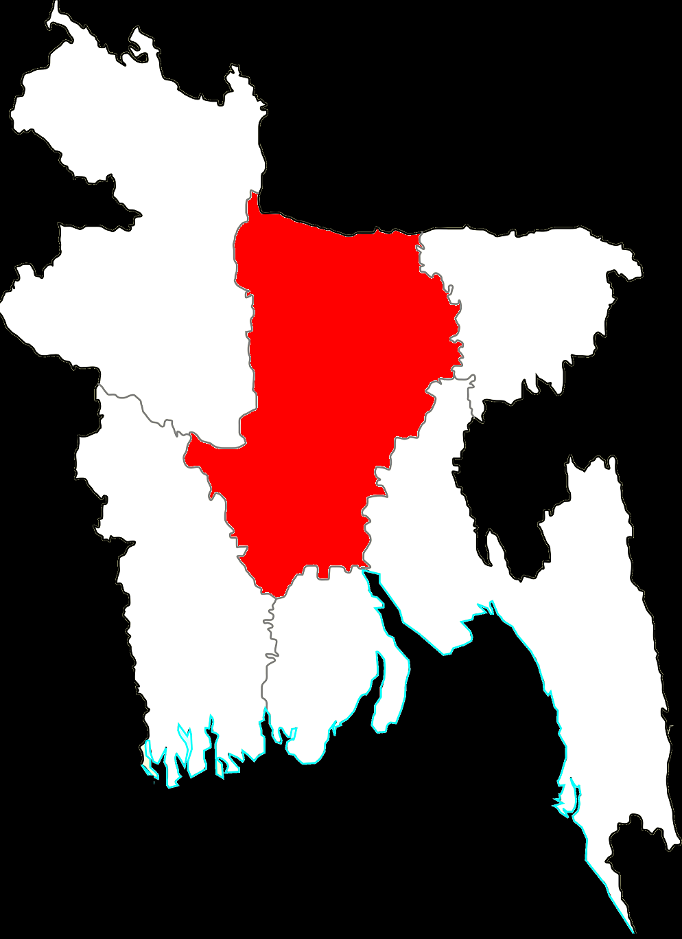 http://en.wikipedia.org/wiki/Divisions_of_Bangladesh