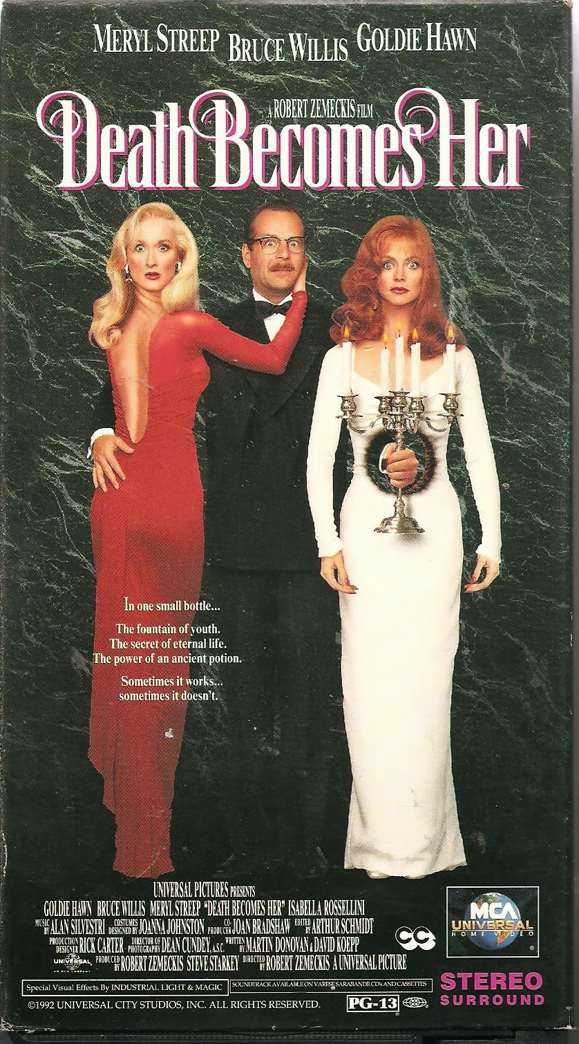 Schuster at the Movies: Death Becomes Her (1992)