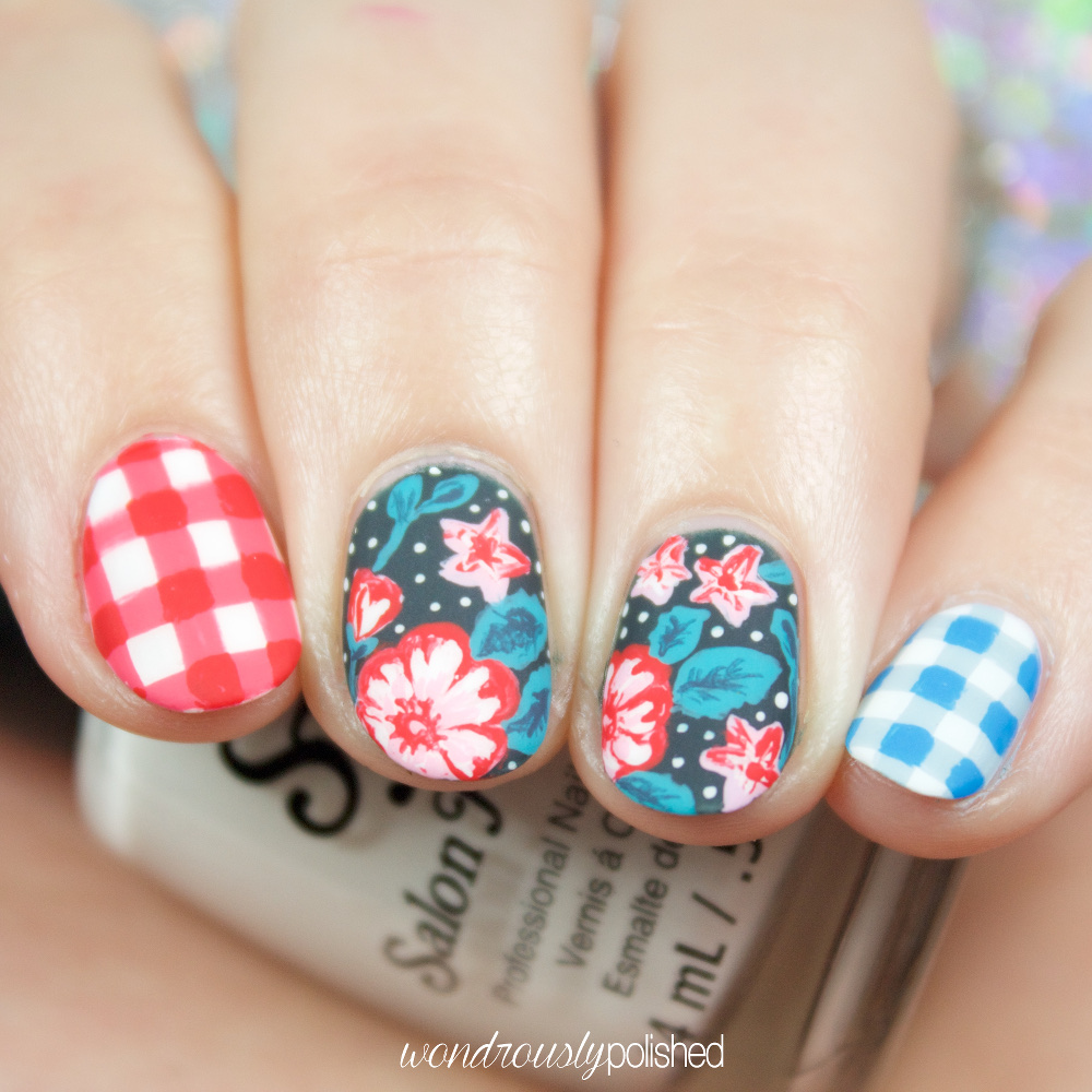 Nail Art Ideas » Nails Art Design July 4 - Pictures of Nail Art ...