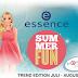 Újdonság | Essence Summer Fun trendkiadás