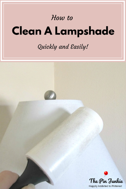 Have your dusty, dirty lampshades looking like new with this simple trick!