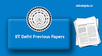 IIT Delhi Previous Papers