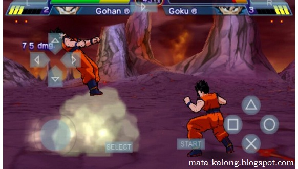 Cara Bermain Dragon Ball Z Shin Budokai Di Android