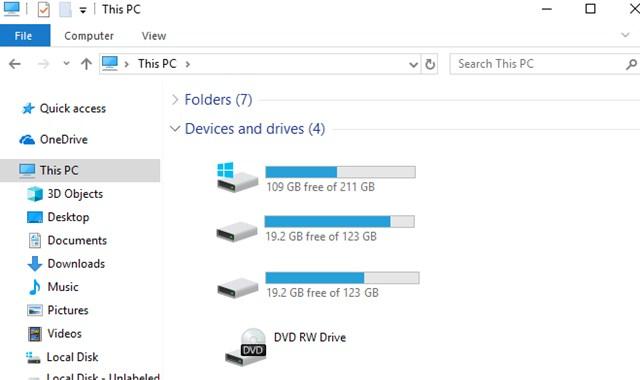 Cara Menyembunyikan Partisi Hardisk (Drive Letter) di Windows 10