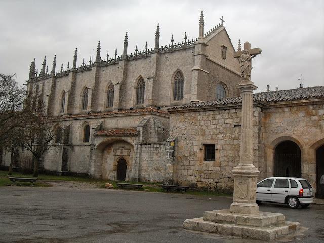 La cartuja de Miraflores en Burgos, España