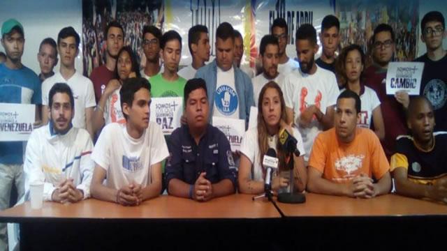 Movimiento estudiantil pide a los venezolanos seguir en la lucha por la democracia