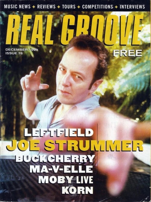 Joe Strummer, Real Groove magazine dec 1999