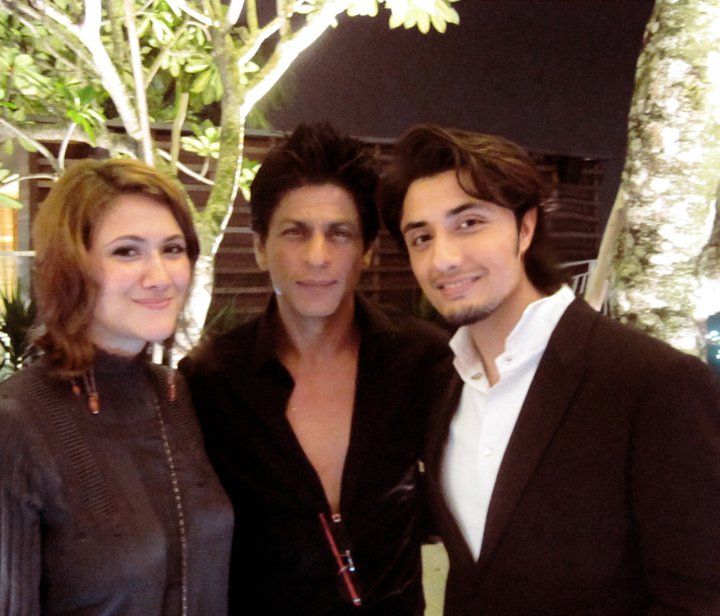 Star Tv Links: Ali Zafar And His Wife Pictures