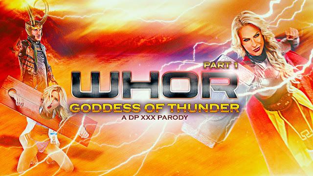 Whor Goddess of Thunder, A DP XXX Parody Part 1 [HD]