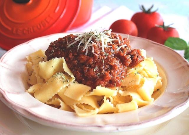 receta de salsa bolognesa