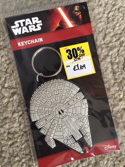 Star Wars keychain from Sports Direct.com #sdfiverchallenge
