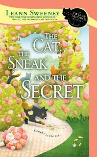 The Cat, the Sneak, and the Secret book cover image.