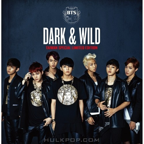 BTS (Bangtan Boys) – Dark & Wild Taiwan Special Limited Edition – Single