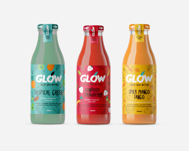 Glow Packaging Of World - Creative Package Design