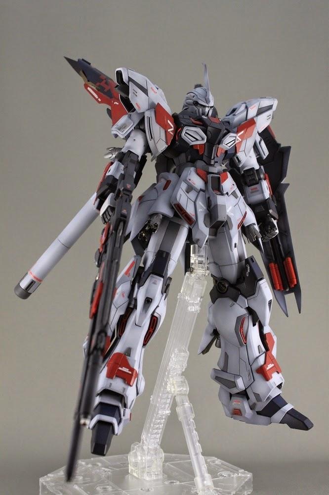 "Custom Build: MG 1/100 MSN-06S Sinanju Stein""Prototype ..."