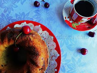 Рецепта за кекс с череши и шоколад