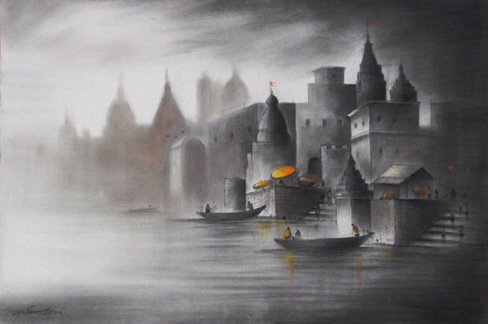 Красочные и яркие картины. Somnath Bothe