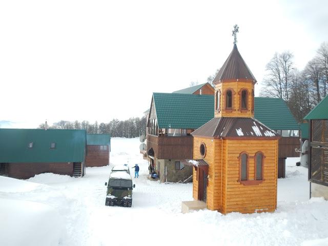 """Комплекс для беговых лыж """"Олимпия"""", Сочи, Хмелевские озера, Красная поляна. Беговые лыжи в Красной поляне"""