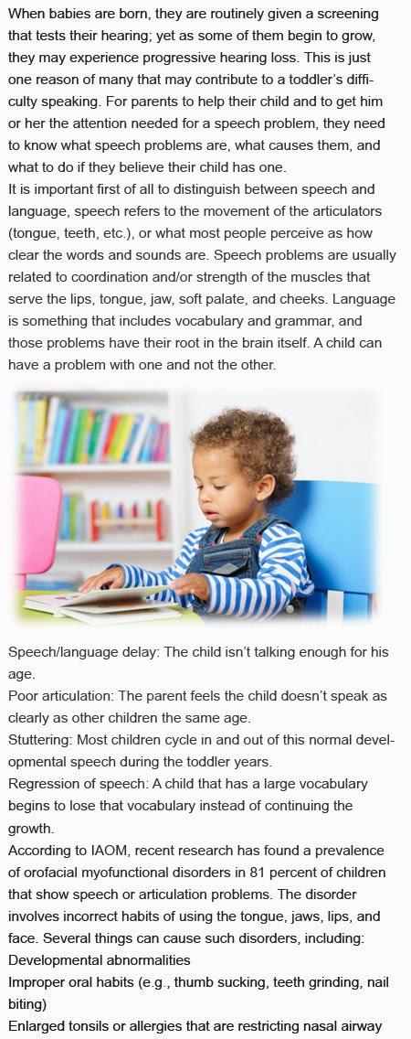 Speech help