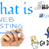 what is web hosting and how does it work ?