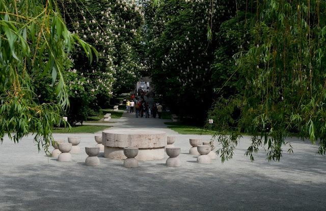 Brancusi's Table of Silence; Tg. Jiu, Romania