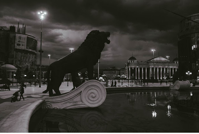 Pic of the Day - The Lion of Skopje