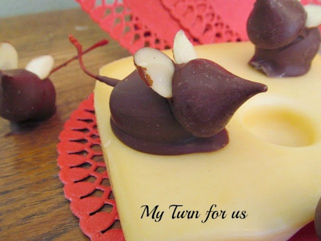 Chocolate Covered kiss Candy