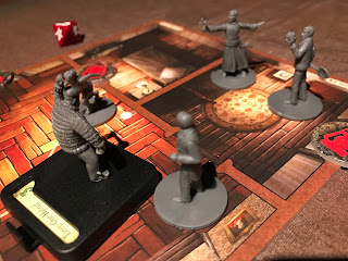 Investigators are attacked by a deep one hybrid in Innsmouth