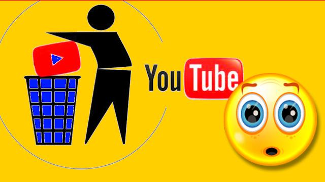 طريقة استرجاع قناة اليوتيوب بعد حذفها