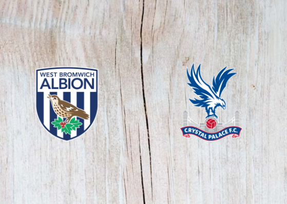 West Bromwich Albion vs Crystal Palace - Highlights 25 September 2018